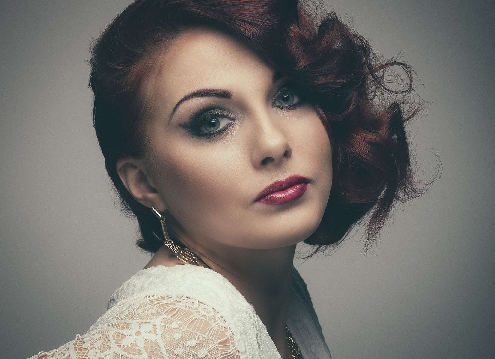 Hair, makeup and styling - Rosie Finnigan.