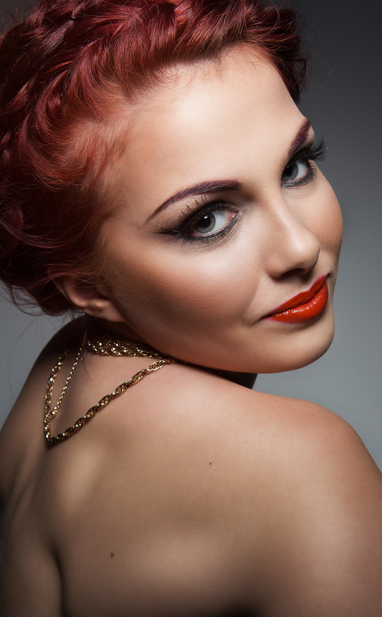 Makeup, styling and hair - Rosie Finnigan